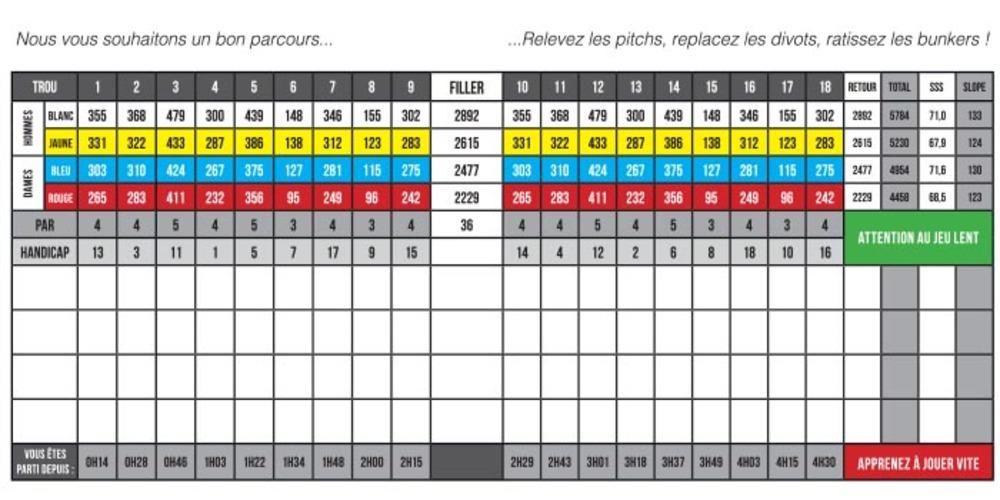 9-hole course